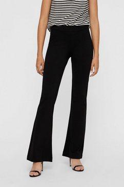 vero moda jerseybroek »kamma« zwart