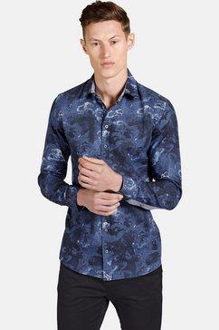 shirtmaster hemd met lange mouwen »theblueeagle« blauw