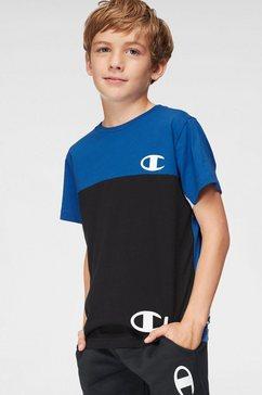 champion t-shirt »crewneck t-shirt« zwart