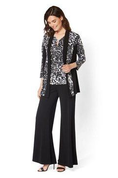 select! by hermann lange blouseblazer zwart