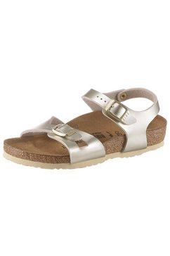 birkenstock sandalen »rio kids« goud