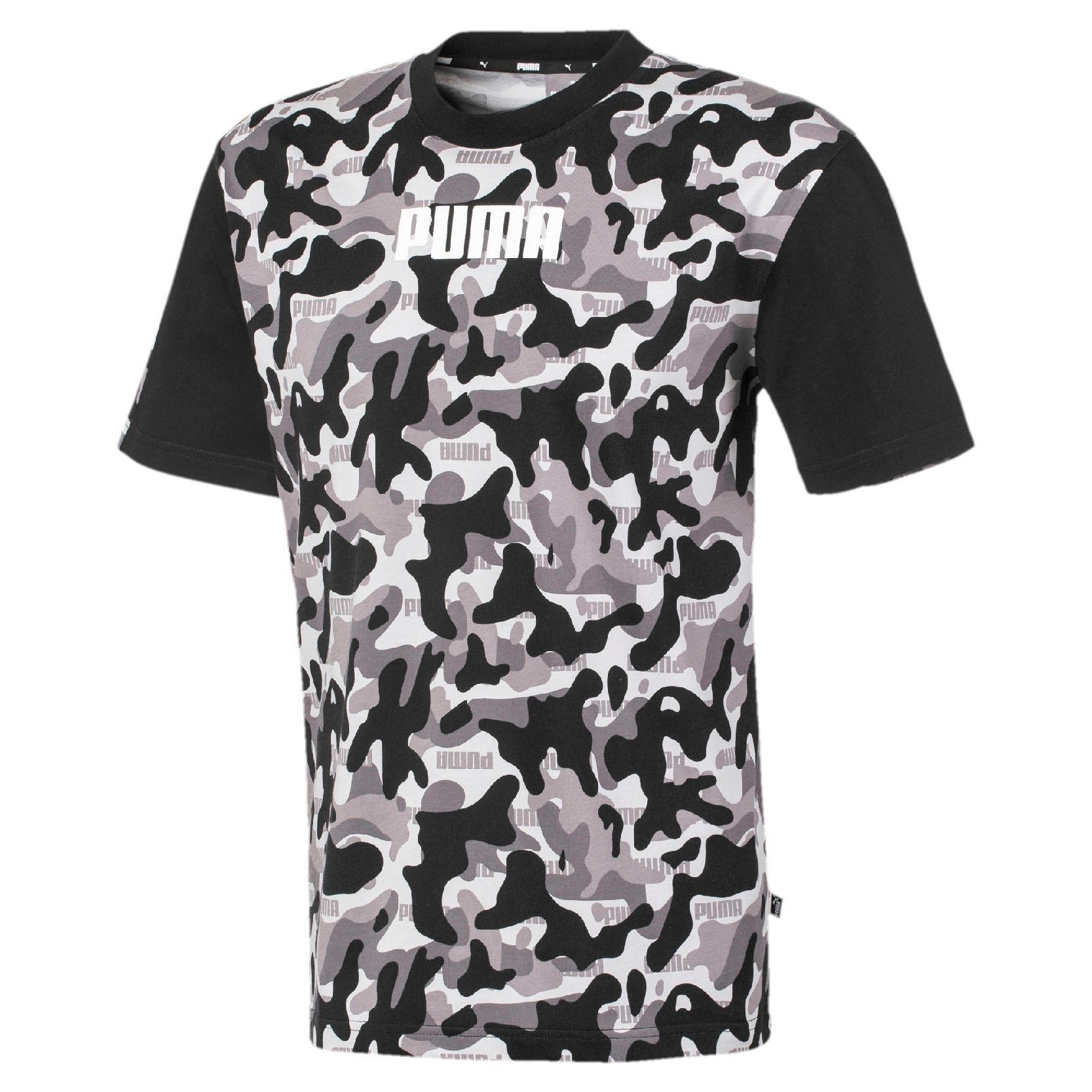 Puma T-shirt »Rebel CAMO Fill Tee« voordelig en veilig online kopen