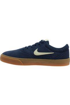 nike sb sneakers »charge suede skate« blauw