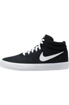 nike sb sneakers »charge mid canvas skate« zwart
