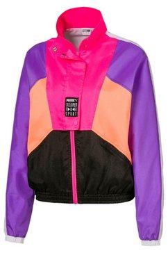 puma windbreaker »tfs og retro track jacket« paars