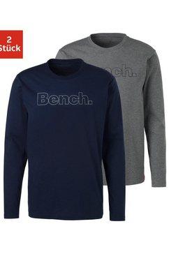 bench. shirt met lange mouwen (set van 2) multicolor