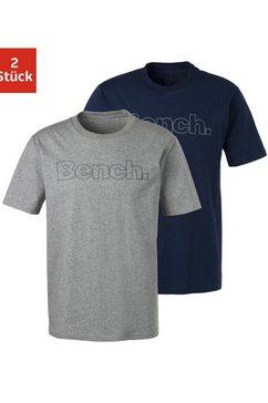 bench. shirt met korte mouwen (set van 2) multicolor