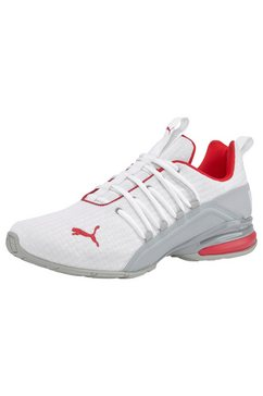 puma sneakers »axelion block« wit