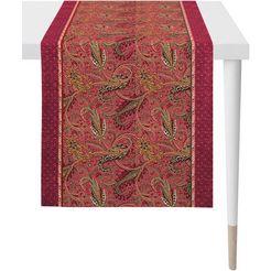 apelt tafelloper 1310 herfsttijd digitale print (1 stuk) rood