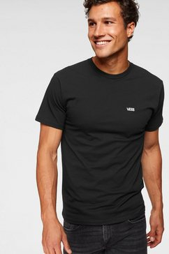 vans t-shirt »left chest logo tee« zwart