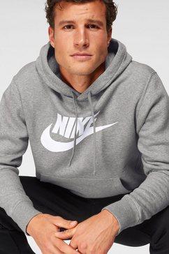 nike sportswear hoodie grijs