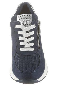 marco tozzi sneakers met sleehak »lizzo« blauw