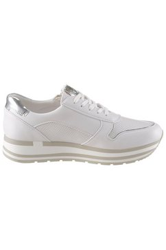 marco tozzi plateausneakers »bindo« wit