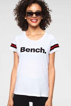 bench performance t-shirt »malena« wit