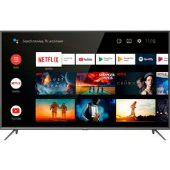 tcl 43ep644 led-tv (108 cm - 43 inch), 4k ultra hd, smart-tv zwart