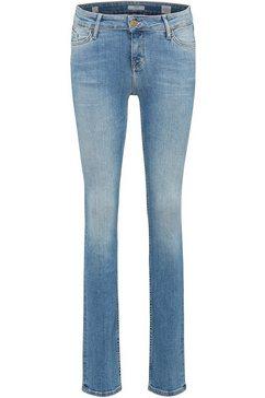 mustang jeans »jasmin slim« blauw