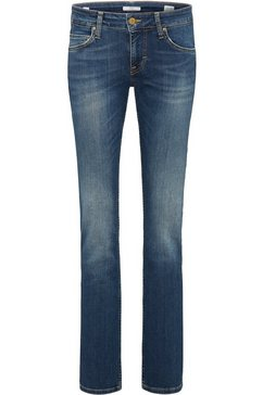 mustang stretchjeans »sissy straight« blauw