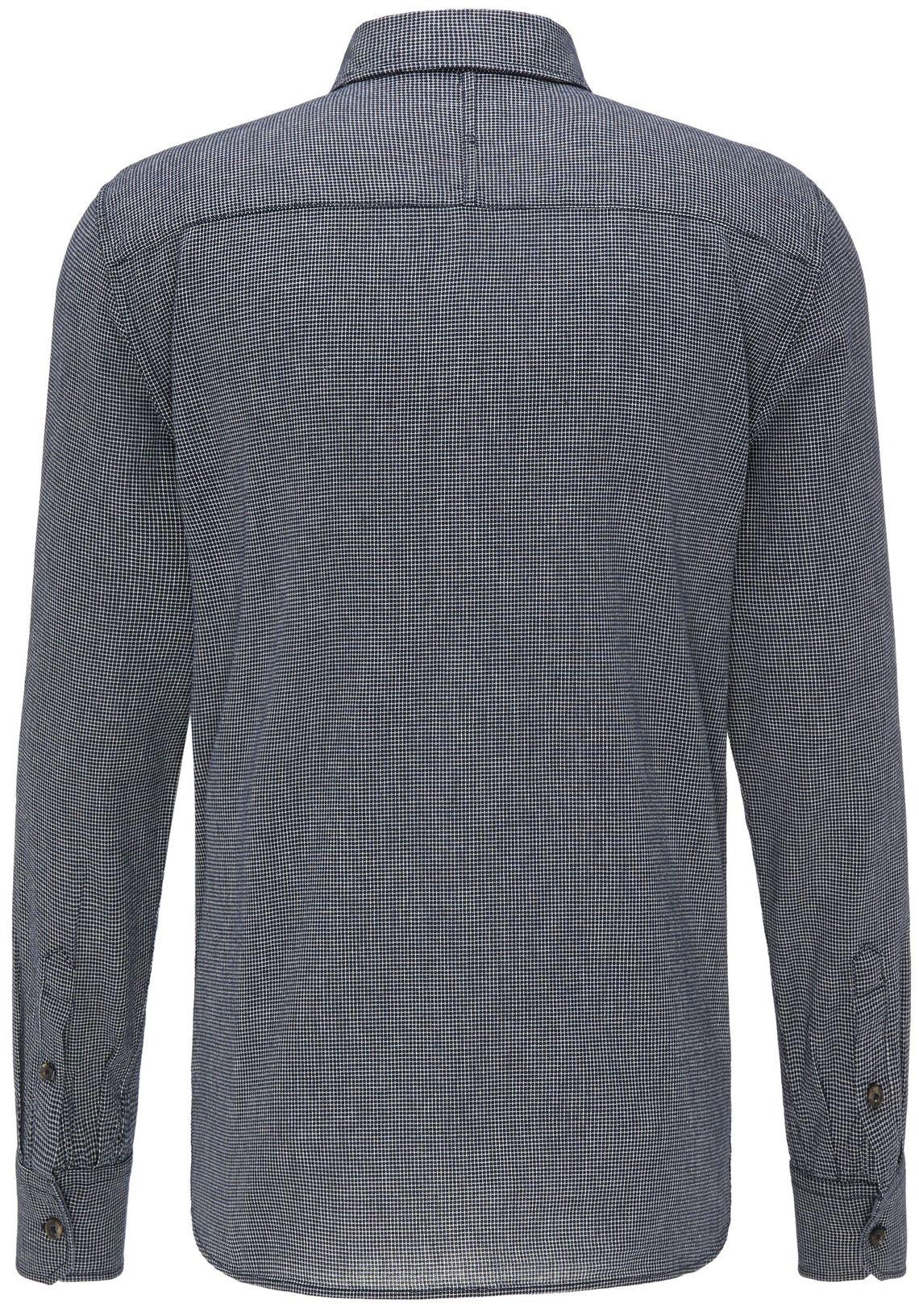 MUSTANG overhemd makkelijk besteld  donkerblauw-4136