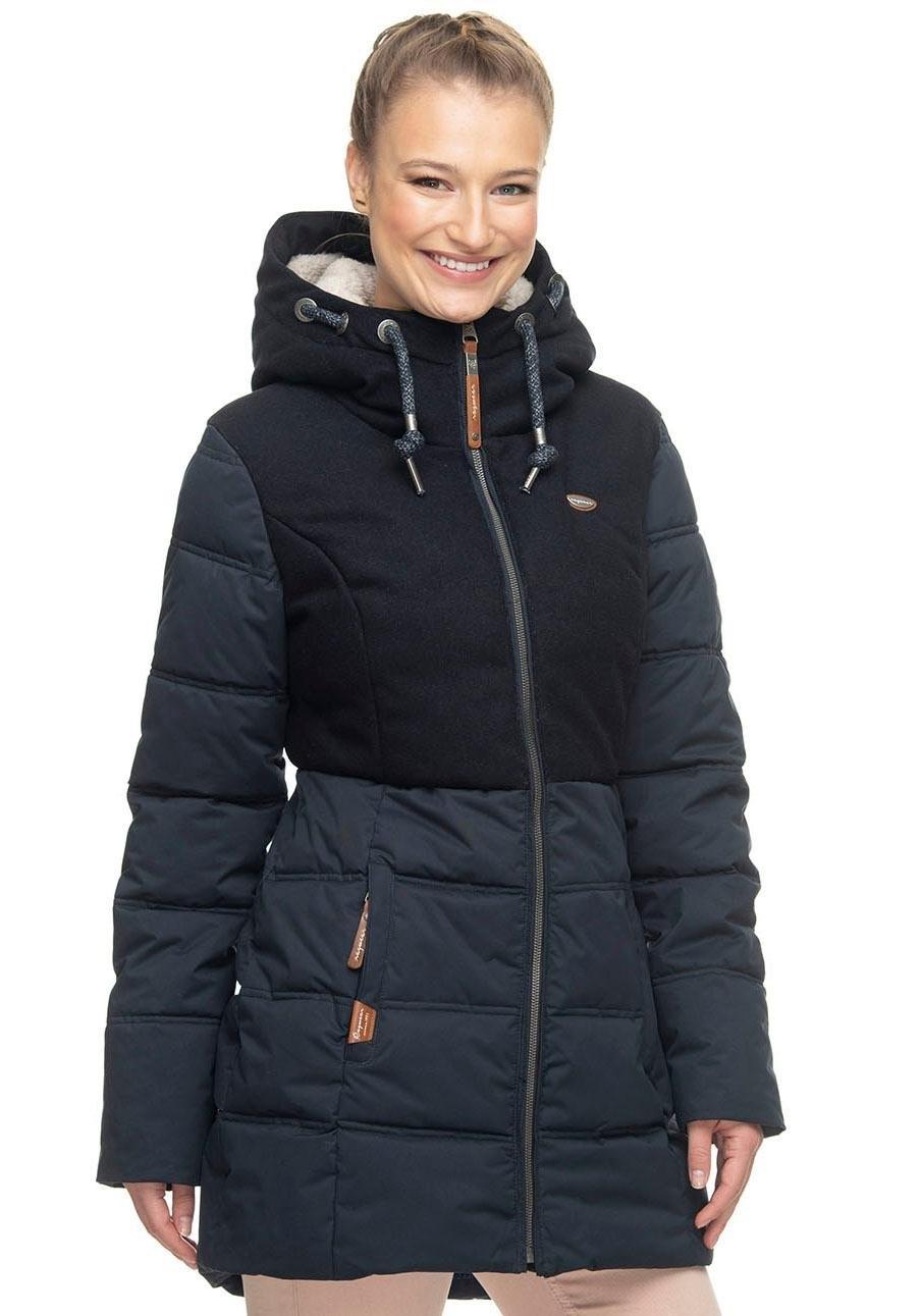 Ragwear parka »ASHANI BLOCK« bij OTTO online kopen