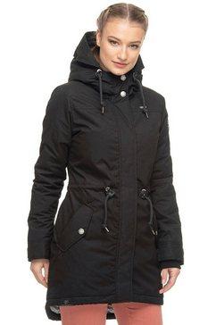 ragwear parka »elba coat b« zwart