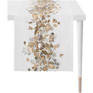 apelt tafelloper 1508 christmas elegance digitaal printen (1 stuk) beige