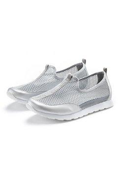 lascana sneakers zilver
