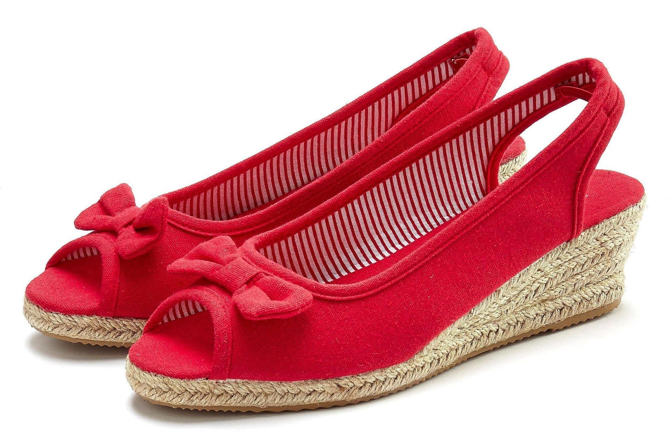 Op zoek naar een LASCANA espadrille-sandaaltjes? Koop online bij OTTO