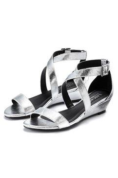 lascana sandaaltjes zilver