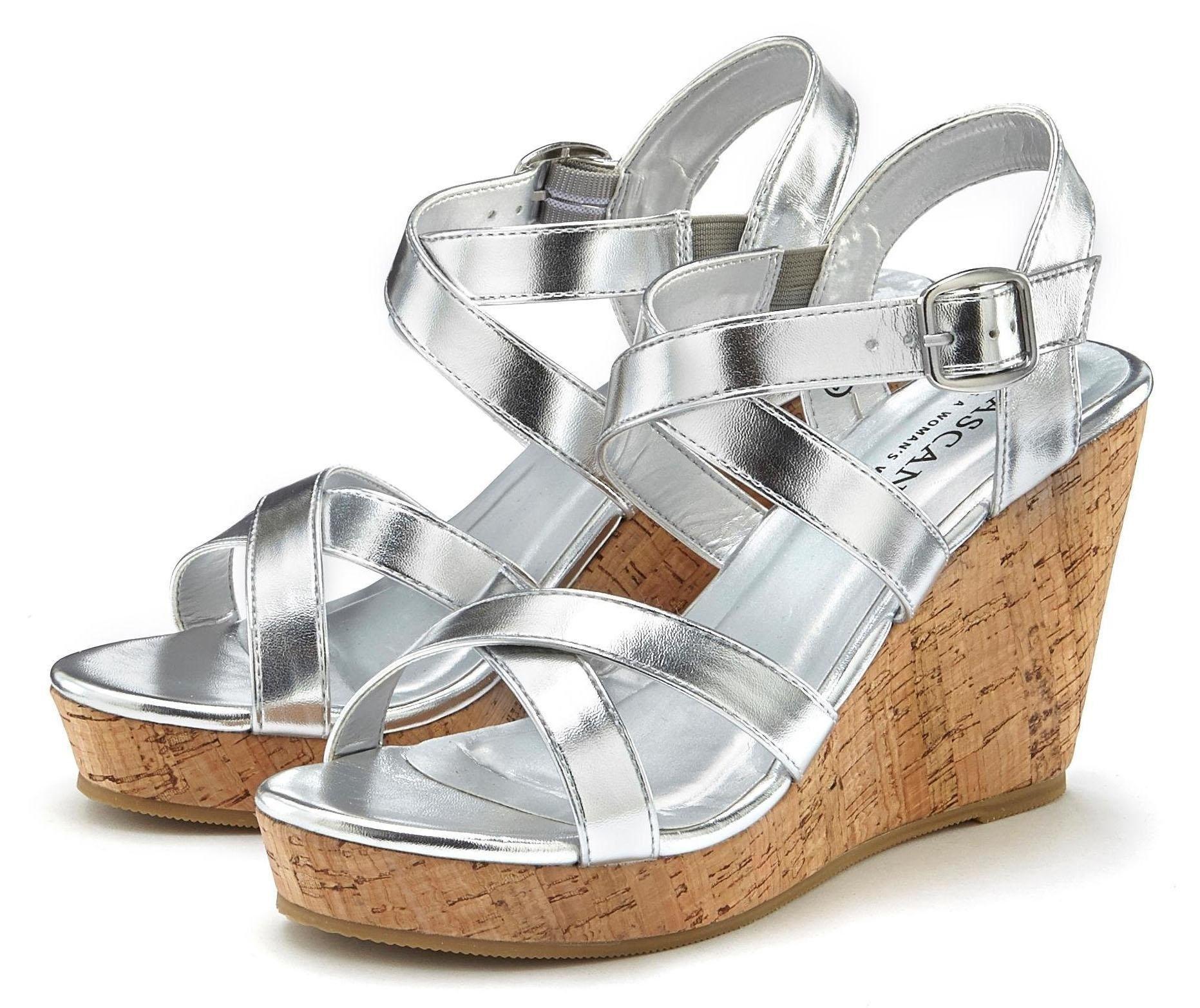 LASCANA highheel-sandaaltjes - verschillende betaalmethodes