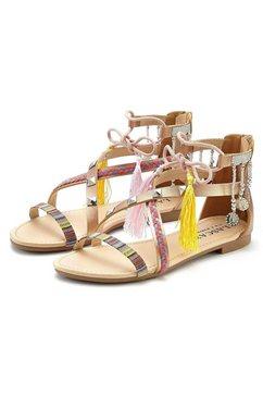 lascana sandalen bruin