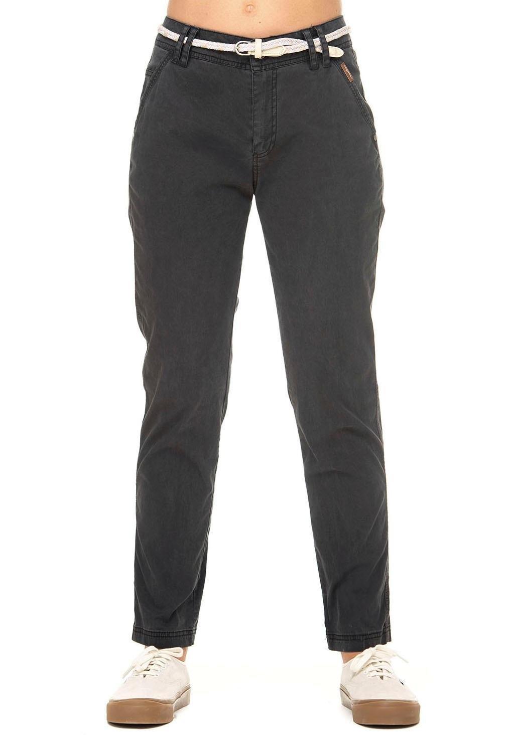 Ragwear chino-broek »RAVENA« (set, met afneembare riem) in de webshop van OTTO kopen