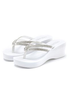lascana teenslippers wit