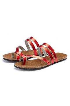 lascana slippers rood