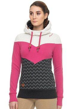 ragwear sweatshirt »trega« grijs