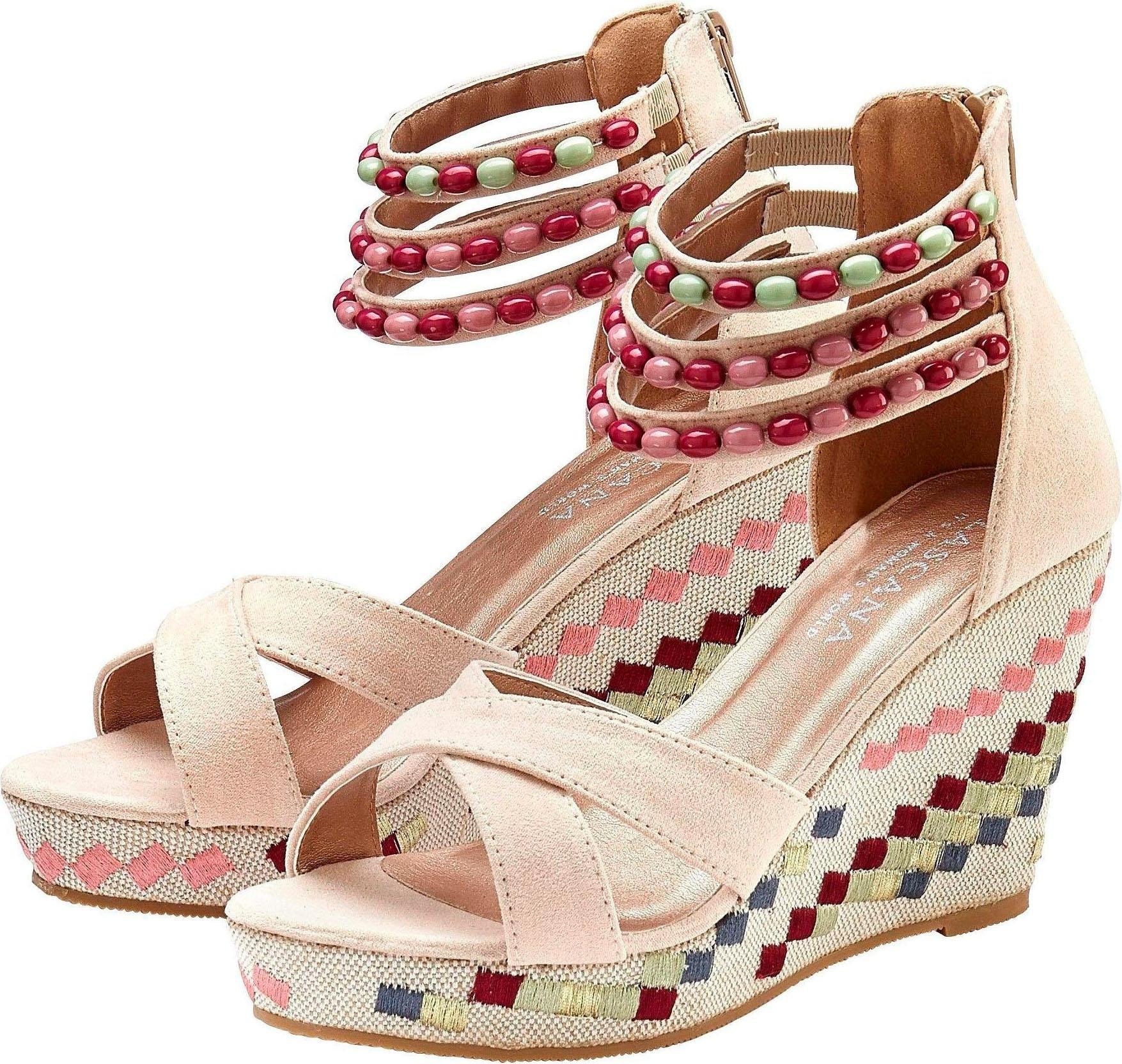 Op zoek naar een LASCANA sandaaltjes met sleehak? Koop online bij OTTO
