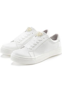 lascana sneakers wit