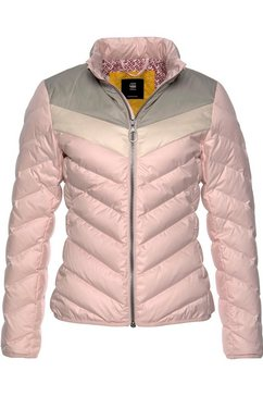 g-star raw gewatteerde jas »alaska« roze