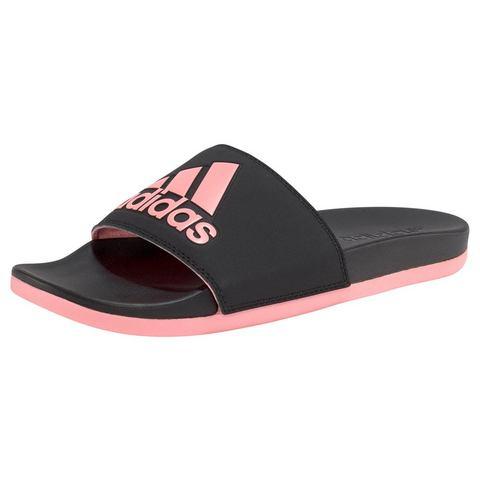 adidas Girl's Adilette Comfort Slides Slippers