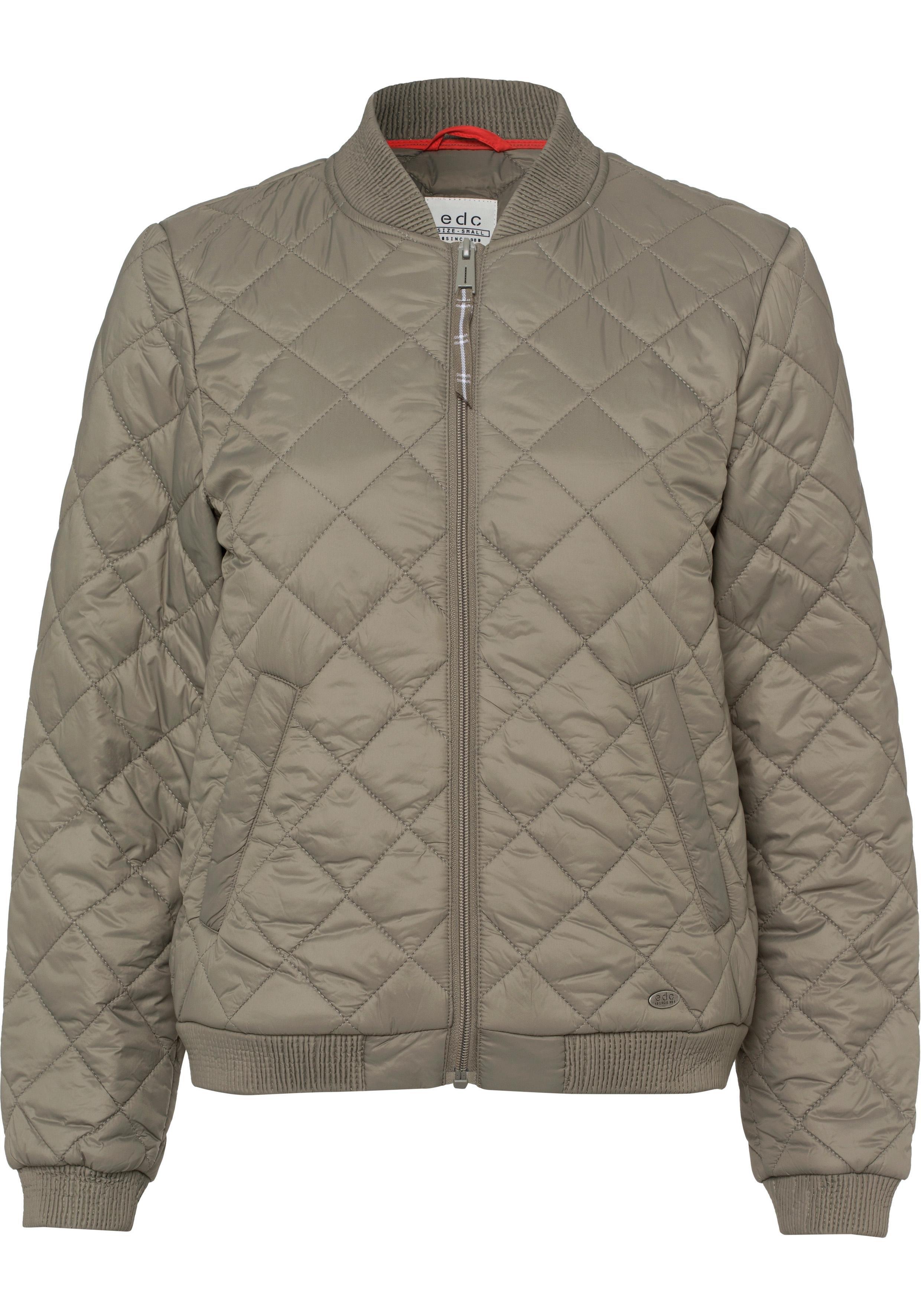 edc by esprit gewatteerde jas nu online bestellen