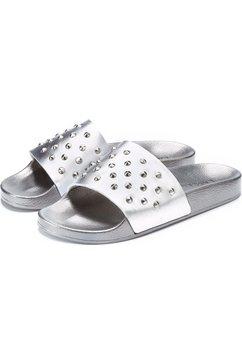 lascana slippers zilver