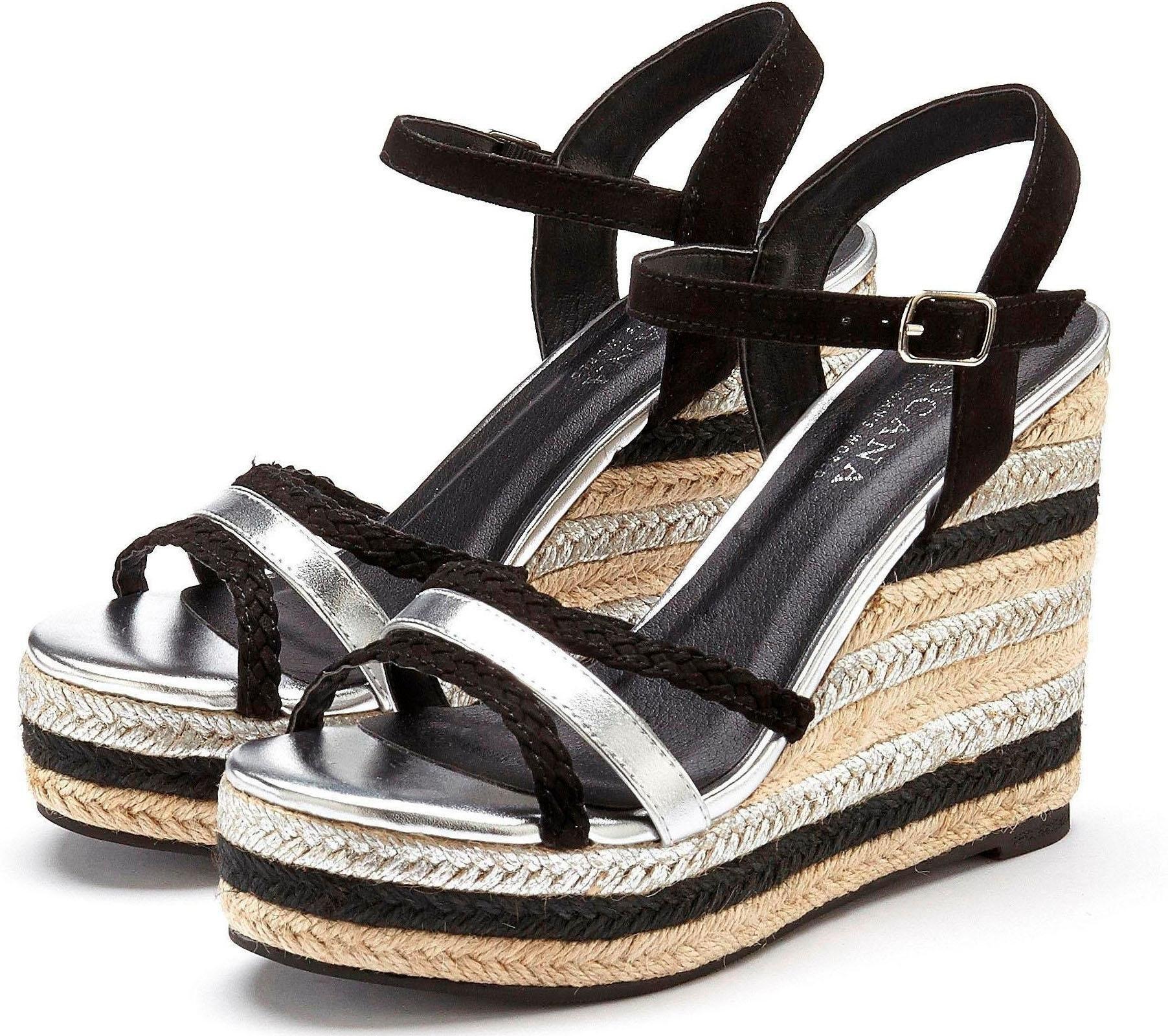 LASCANA sandaaltjes met sleehak bestellen: 14 dagen bedenktijd