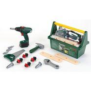 klein speelgoed-gereedschapskoffer bosch werkzeug-box groen