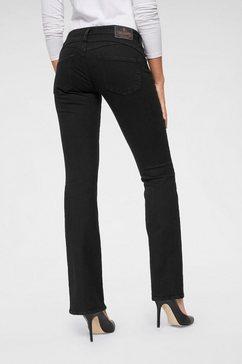 herrlicher bootcut jeans »gina boot« zwart