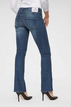 herrlicher bootcut jeans »gina boot« blauw