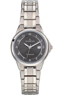 dugena titanium horloge gent, 4460514 zilver