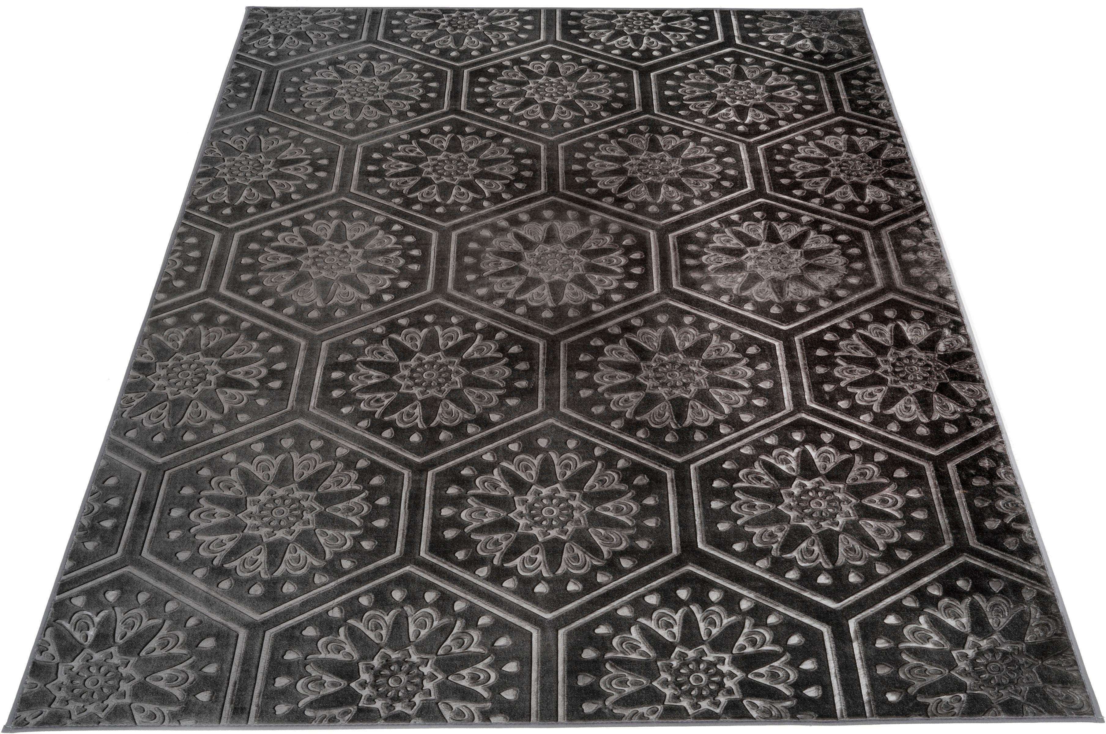 my home Vloerkleed, »Stina«, rechthoekig, hoogte 7 mm, natuurproduct voordelig en veilig online kopen