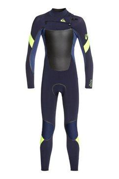 quiksilver lange wetsuit »4-3mm syncro plus« blauw