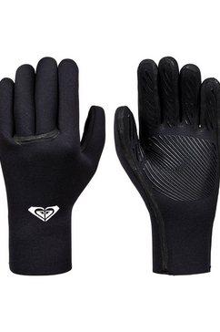 roxy multisporthandschoenen »3mm syncro plus« zwart