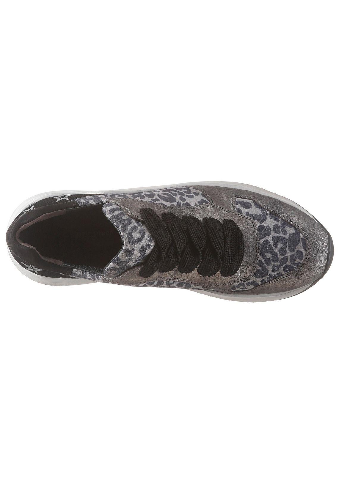 Paul Green plateausneakers online bij  grijs/zilverkleur/zwart