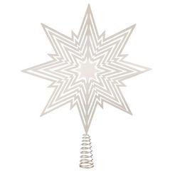 kerstboompiek zilver